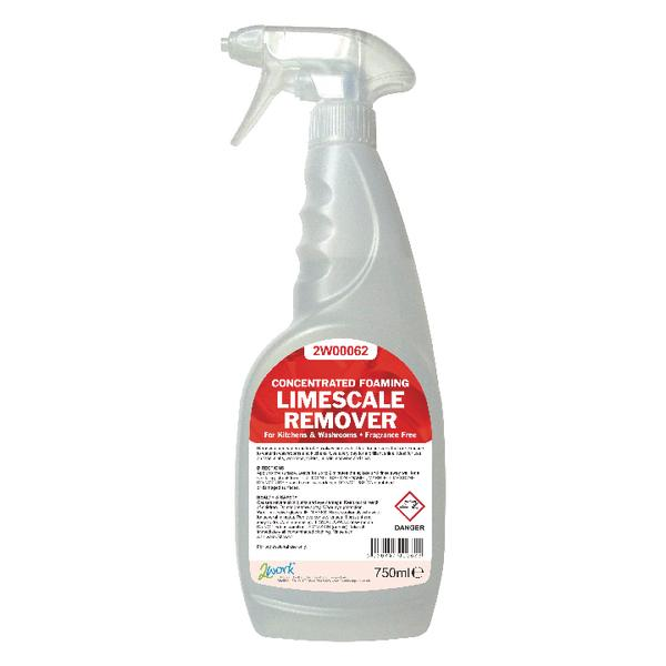 2Work Concentrated Limescale Remover 750ml 524