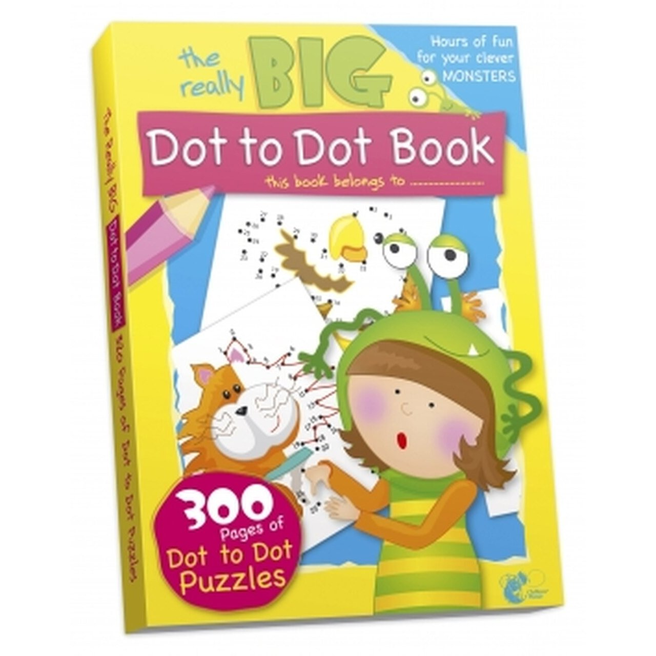 Dot To Dot Book 300 Pages