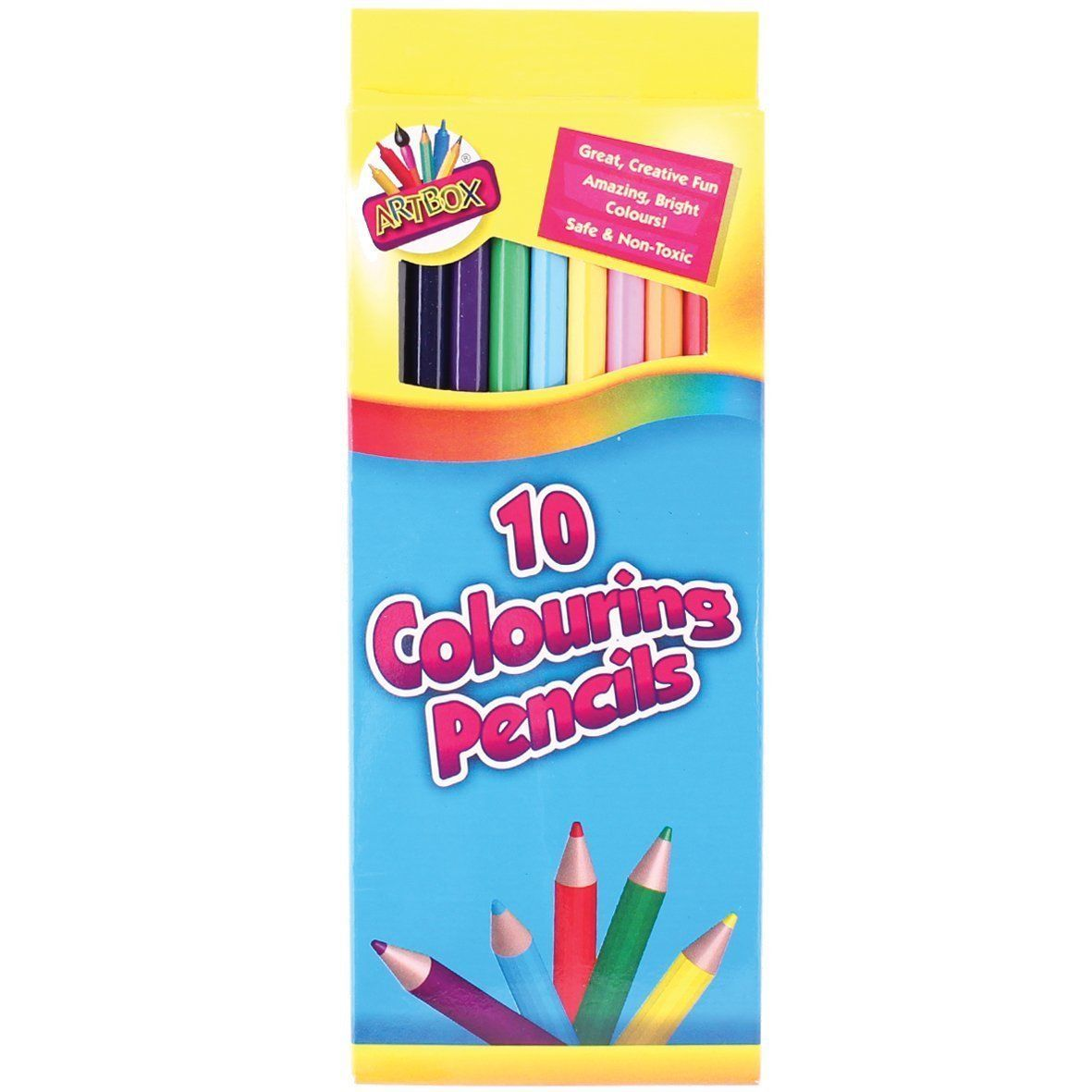 Artbox Full Size Colour Pencil (Pack of 10)