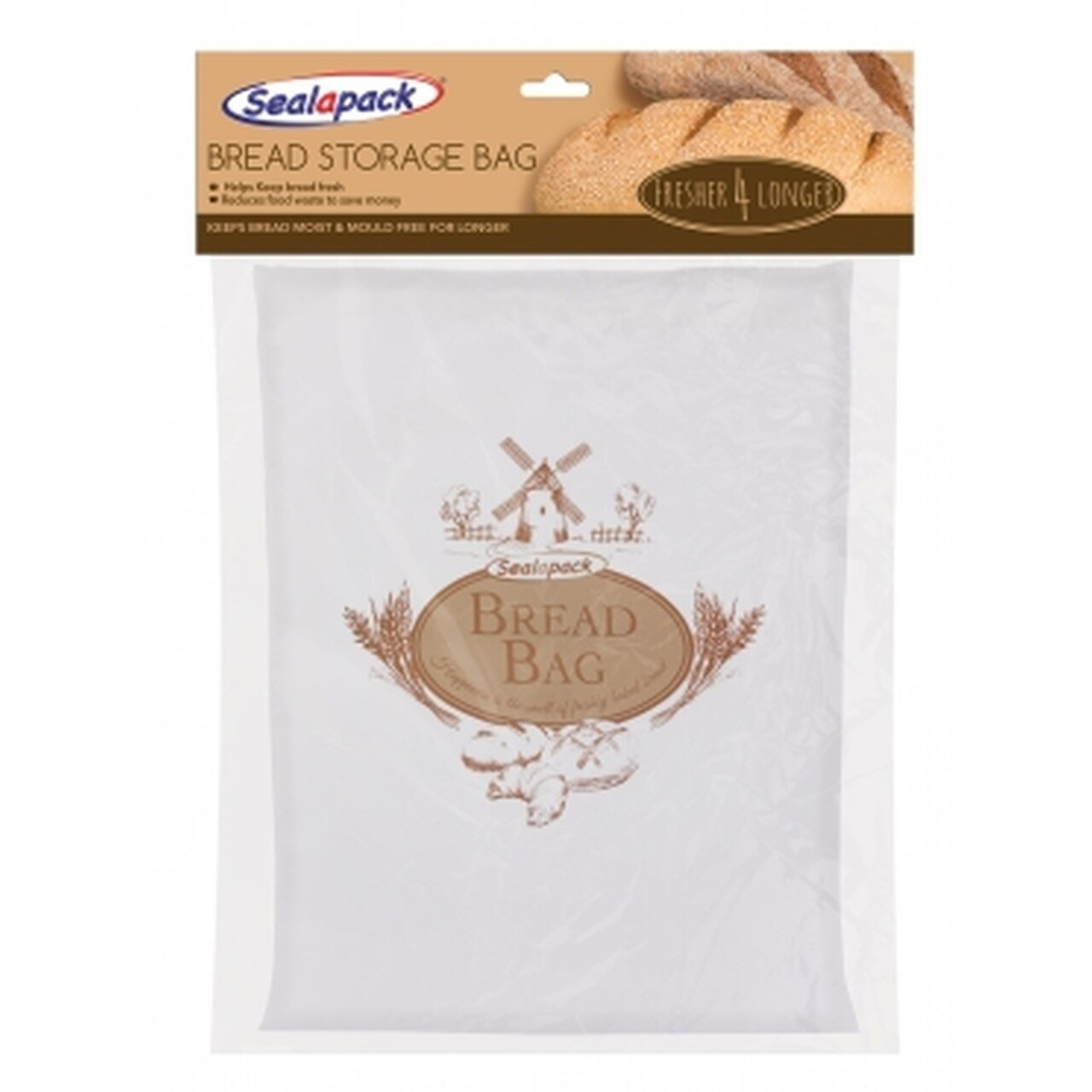 Seal-A-Pack Bread Keeper Bag