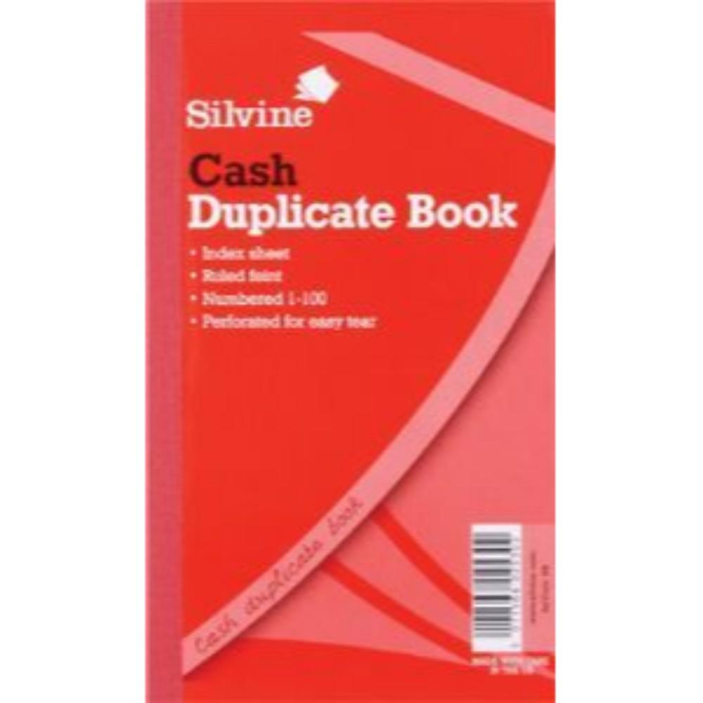 "Duplicate Cash Book 8.25""x5"""