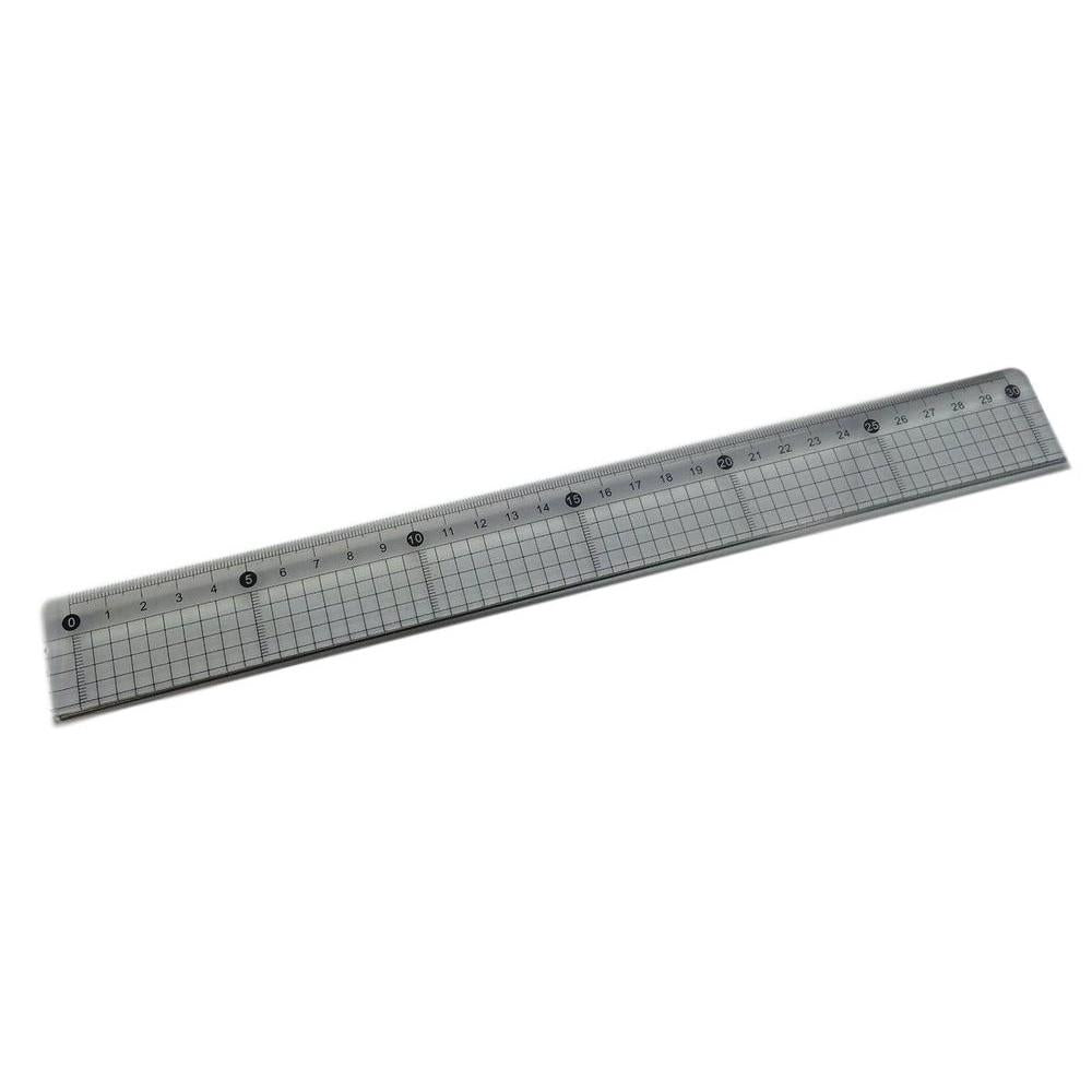 30cm Cutting Ruler With Steel Edge