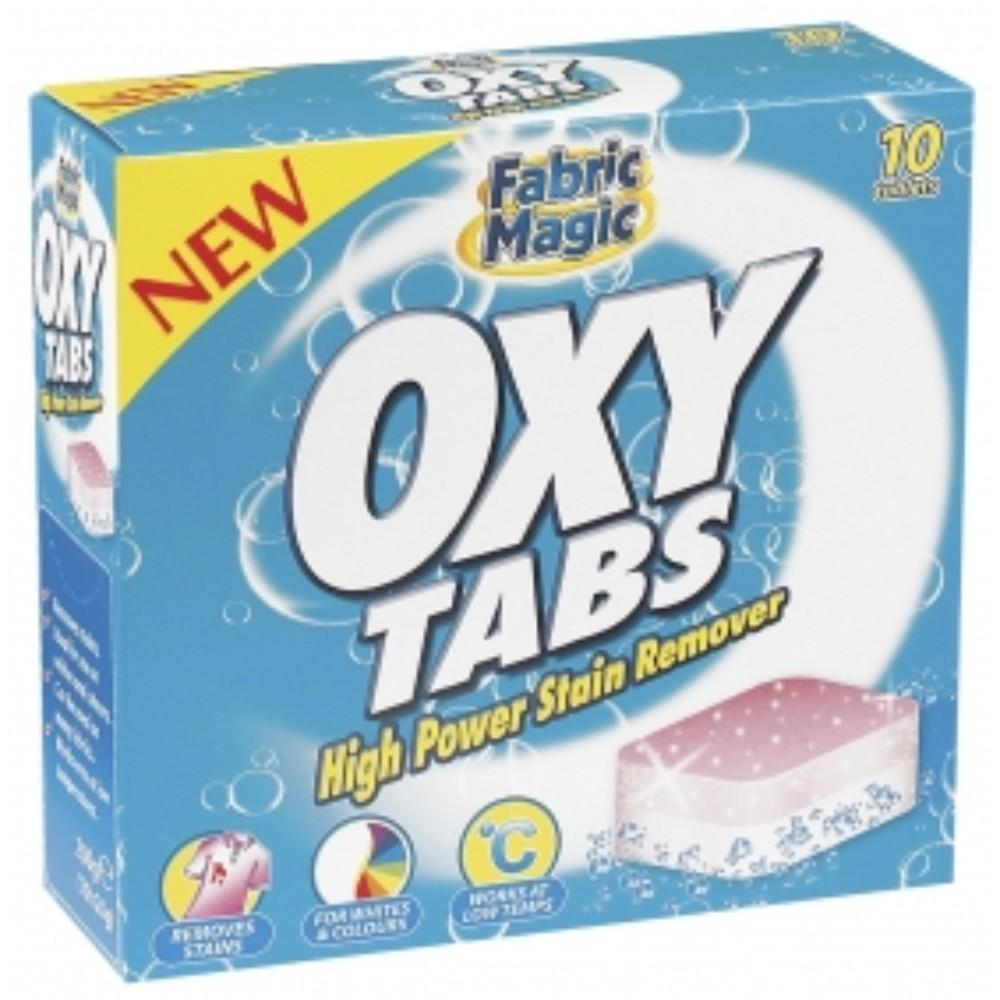 Pack of 10 Oxy Tablets high power stain remover
