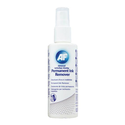 AF Permanent Ink Remover 125ml Pump Spray (Suitable for whiteboards, CD, Dvds) APIR125