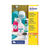 Avery Removable Labels Round 25mm White (Pack of 1200) L4850REV-25