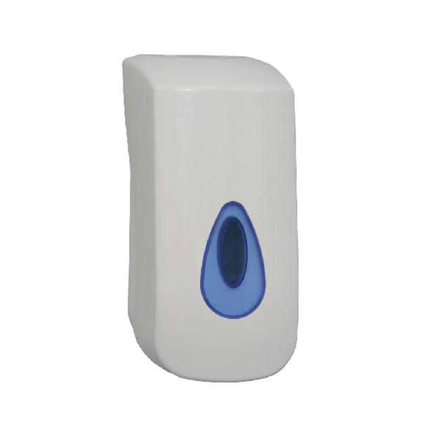 2Work Bulk Fill Hand Soap Dispenser White KDDBC32