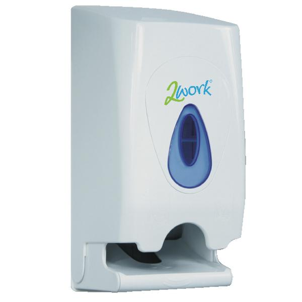 2Work Twin Toilet Roll Dispenser CPD43612