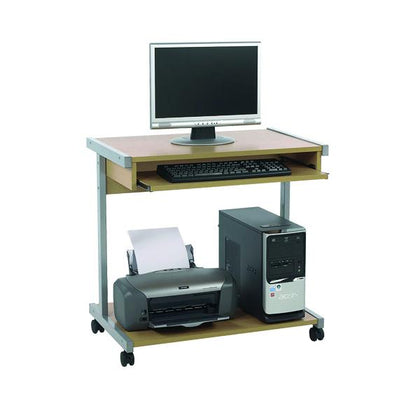 Serrion Mobile Workstation 650mm Ferrera Oak ECS650OK