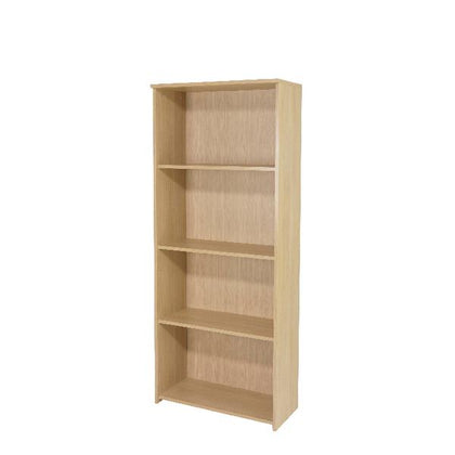Serrion Warm Maple 1750mm Large Bookcase (Dimensions: W740 x D340 x H1600mm) KF73835