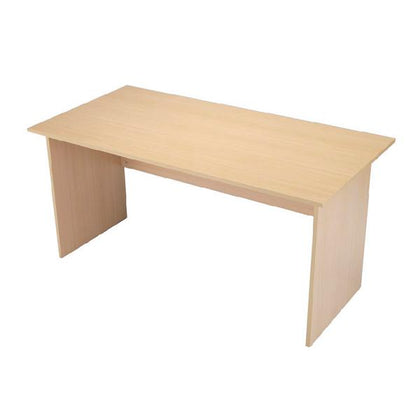 Serrion Warm Maple 1500mm Panel End Desk (Dimesions: W1500 x D750 x H726mm) KF73974