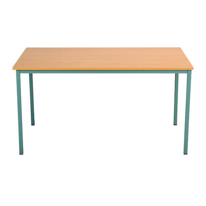 Serrion Rectangular Desk 1500mm Bavarian Beech ERECT1500BE