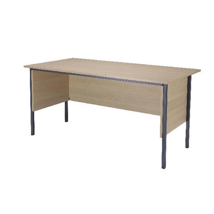 Serrion Warm Maple 1500mm 4 Leg Desk KF838533