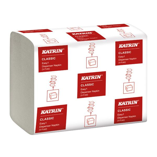 Katrin Classic EASY1 Napkin 2-Ply White 280 Sheet (Pack of 42) 27569