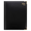 Letts Lexicon Luxury Diary Quarto Week to View Appointment 2020 Black 20-TL3YBK