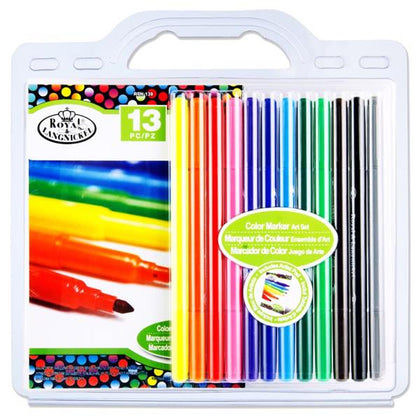 13Pce Drawing Art Set - Color Markers