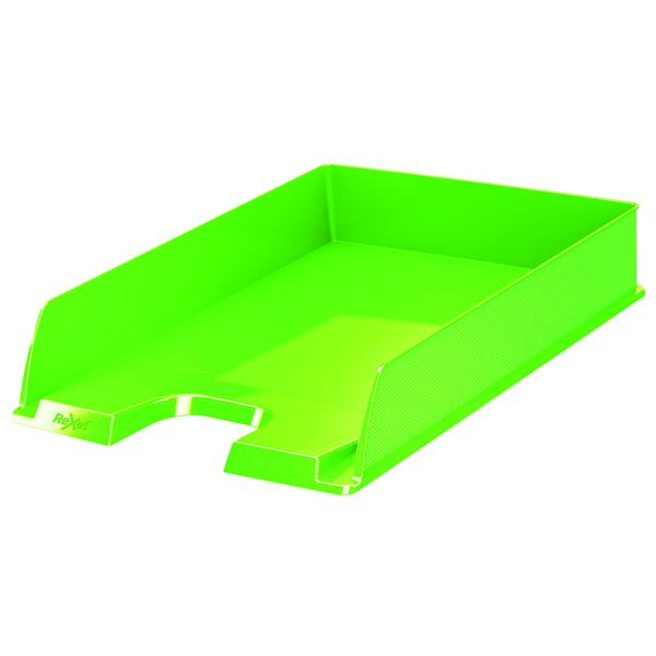 Rexel Choices Letter Tray A4 Green 2115600
