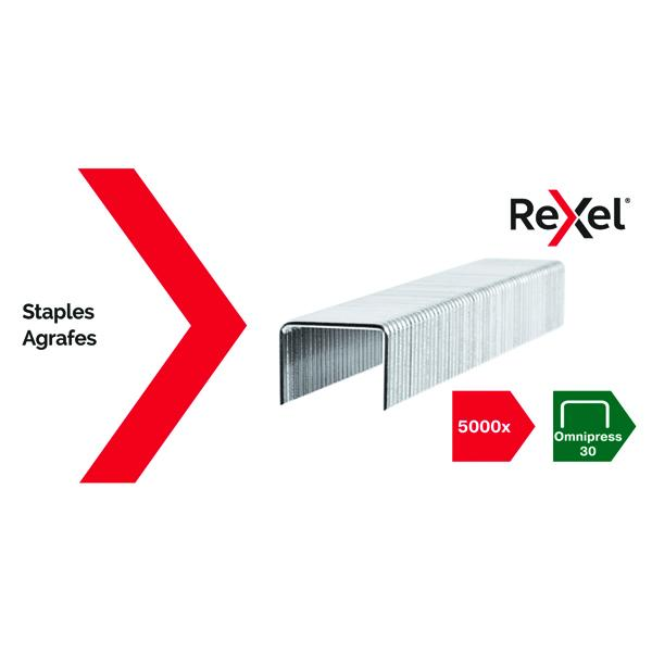 Rexel Omnipress 30 Staples (Pack of 5000) 2115684