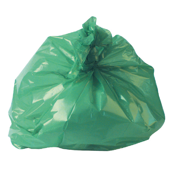 2Work Medium Duty Refuse Sack Green (Pack of 200) RY15561
