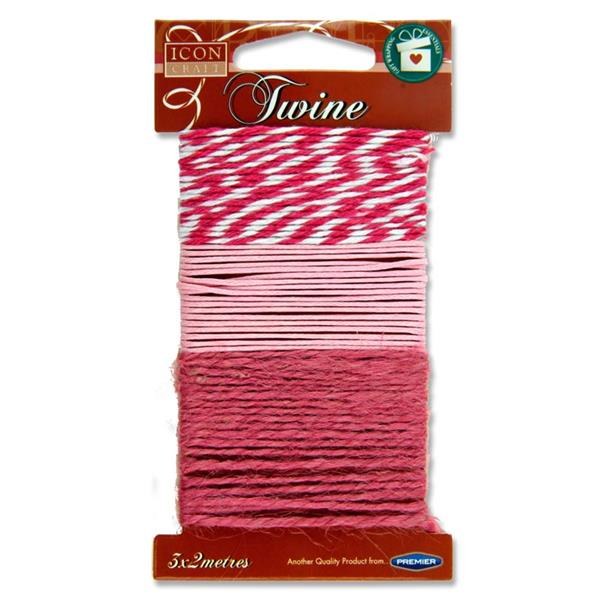 Icon Craft Card 3X2M Twine - Love