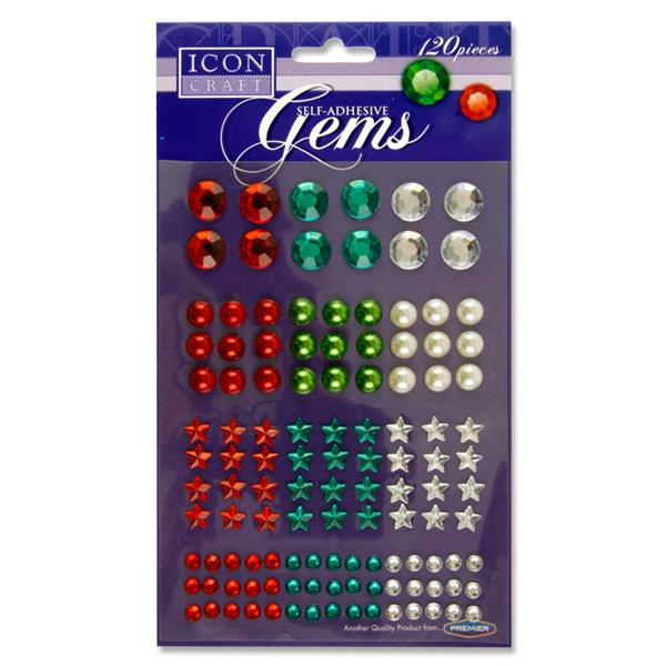 Icon Craft Card 120 Self-Adhesive Gems