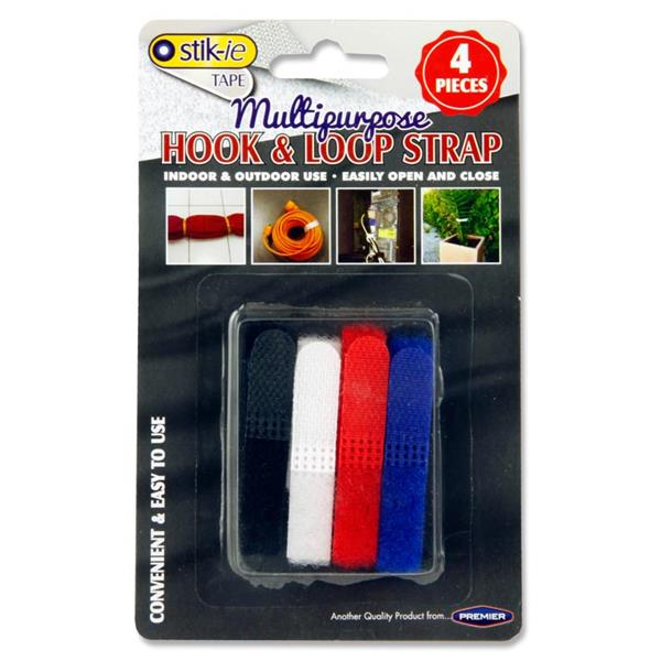 Stik-Ie Card 4 Multipurpose Hook & Loop Straps