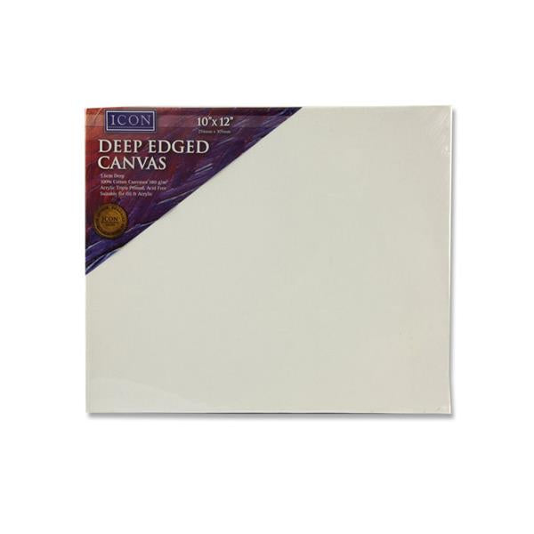 "Icon Deep Edged Canvas 380Gm2 - 10""X12"""