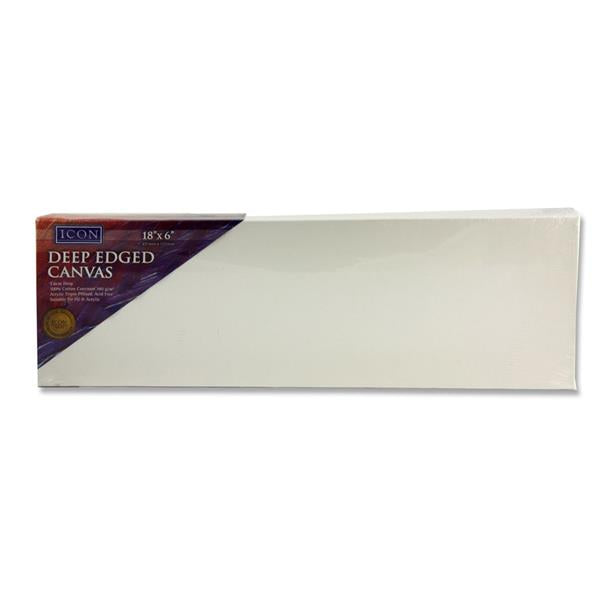 "Icon Deep Edged Canvas 380Gm2 - 18""X6"""