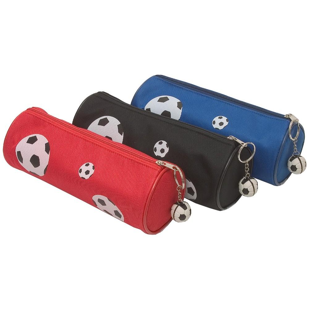 Football Cylinder Pencil Case
