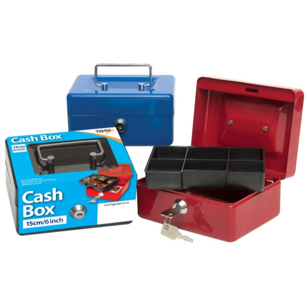 "15cm (6"") Metal Cash Box"
