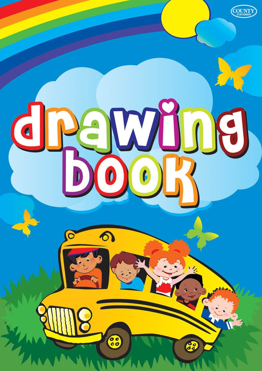 Childrens Drawing Book 24 Pages