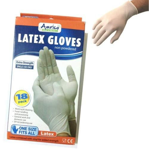 Duzzit Extra Strength Latex Gloves (Small)