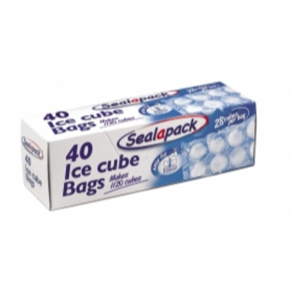 Sealapack 40 Ice Cube Bags - Makes 1120 cubes