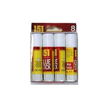 Glue Stick 8g (8 Pack)