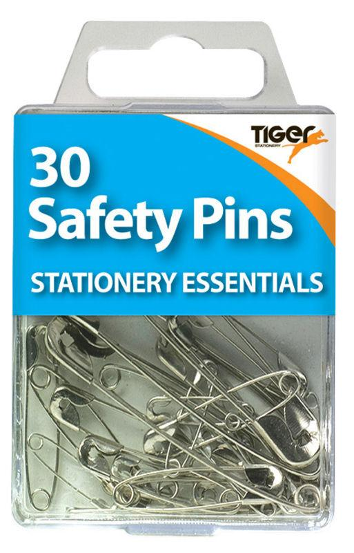 Pack of 30 Steel Safety Pins