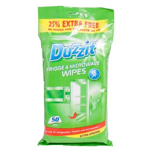 Duzzit Fridge and Microwave Wipes (50 Pack)