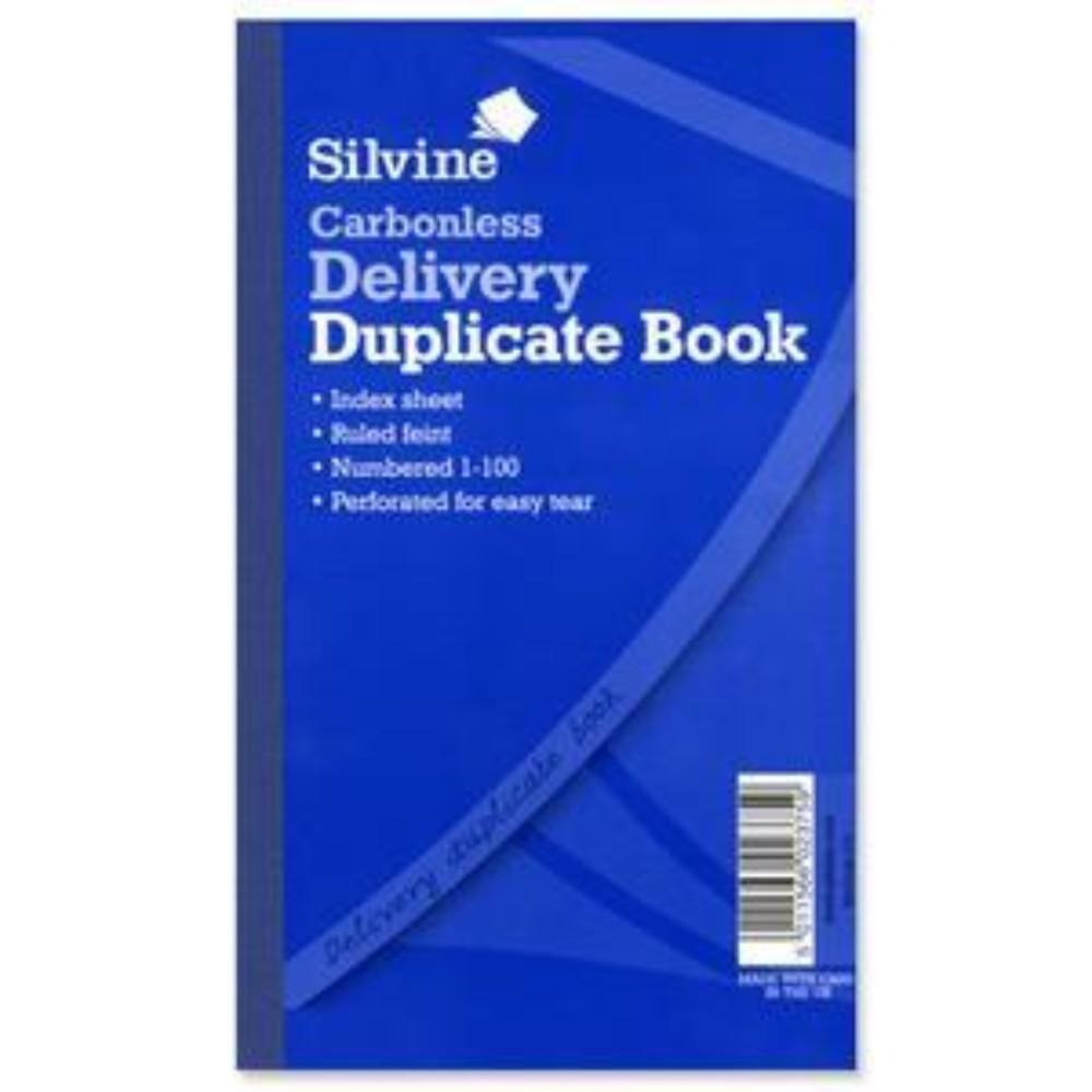 "Carbonless Duplicate Delivery Book  8.25""x5"""