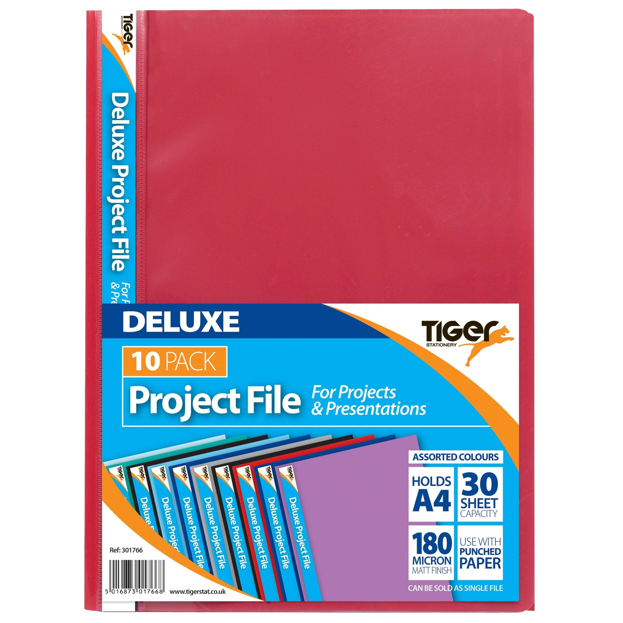 Pack 10 A4 DeLuxe Project Files