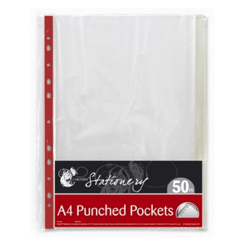 A4 Punched Pockets (40 Pack)