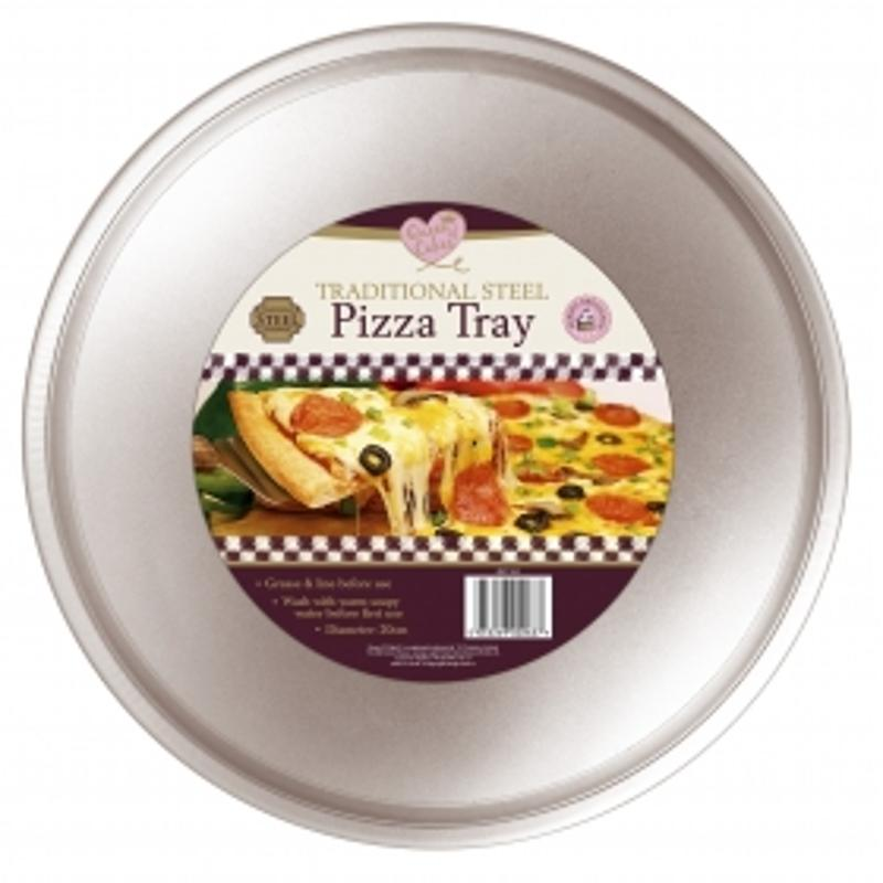 Traditional Steel Pizza Tray