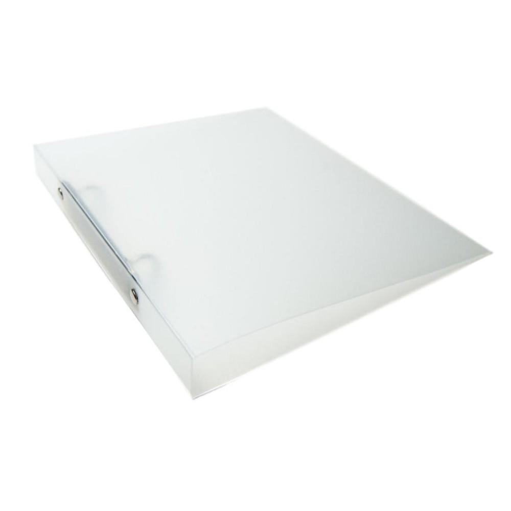 A5 Slim Clear Translucent Ringbinder - Filing Ring Binder Storage
