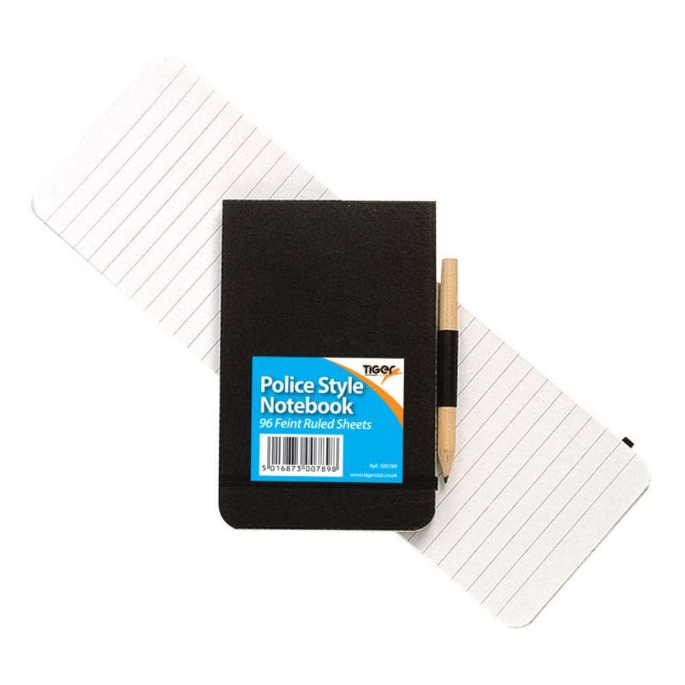 Police style notebook with Pencil
