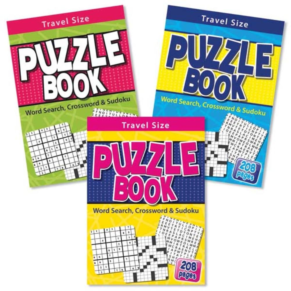 A5 Travel Size Puzzle Book