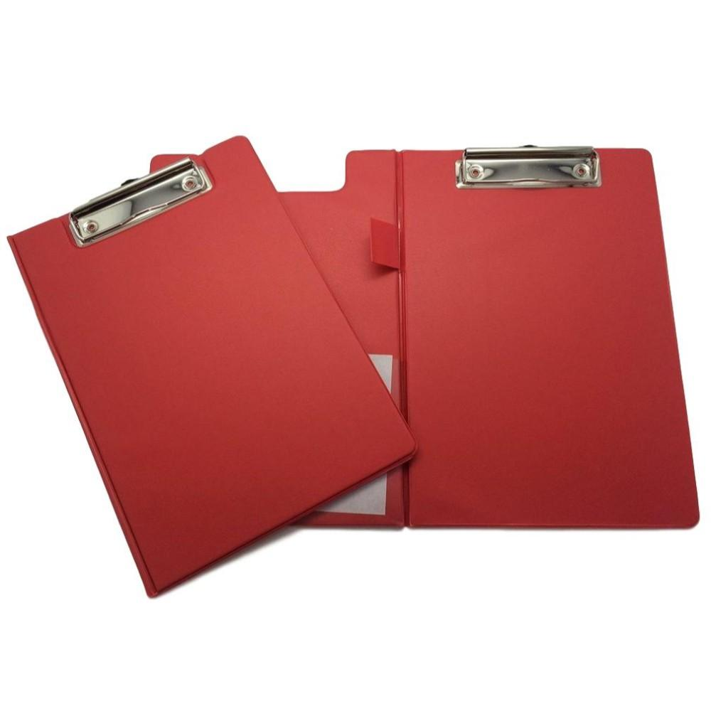 Red A5 Foldover Clipboard