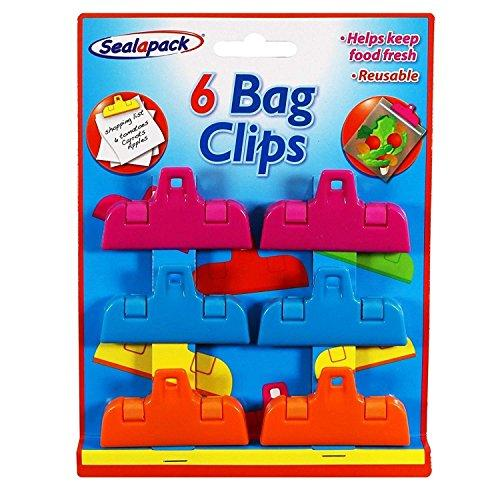 Bag Clips (6 Pack)