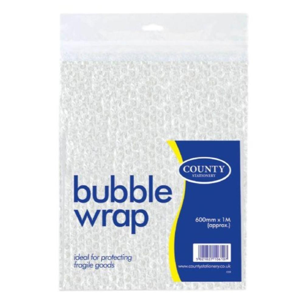 County Bubble Wrap Sheets (Extra Large 1s)[60cm x 1m]
