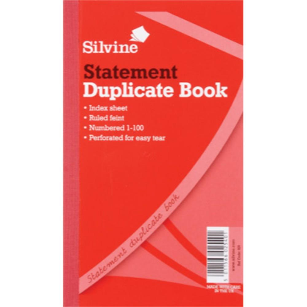 "Duplicate Statement Book 8.25""x5"""