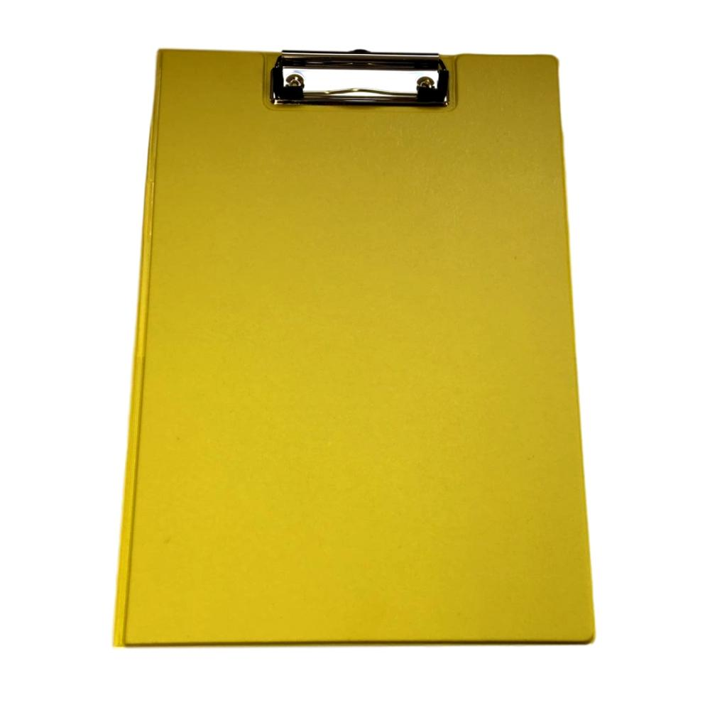 Janrax A4 Neon Yellow Foldover Clipboard