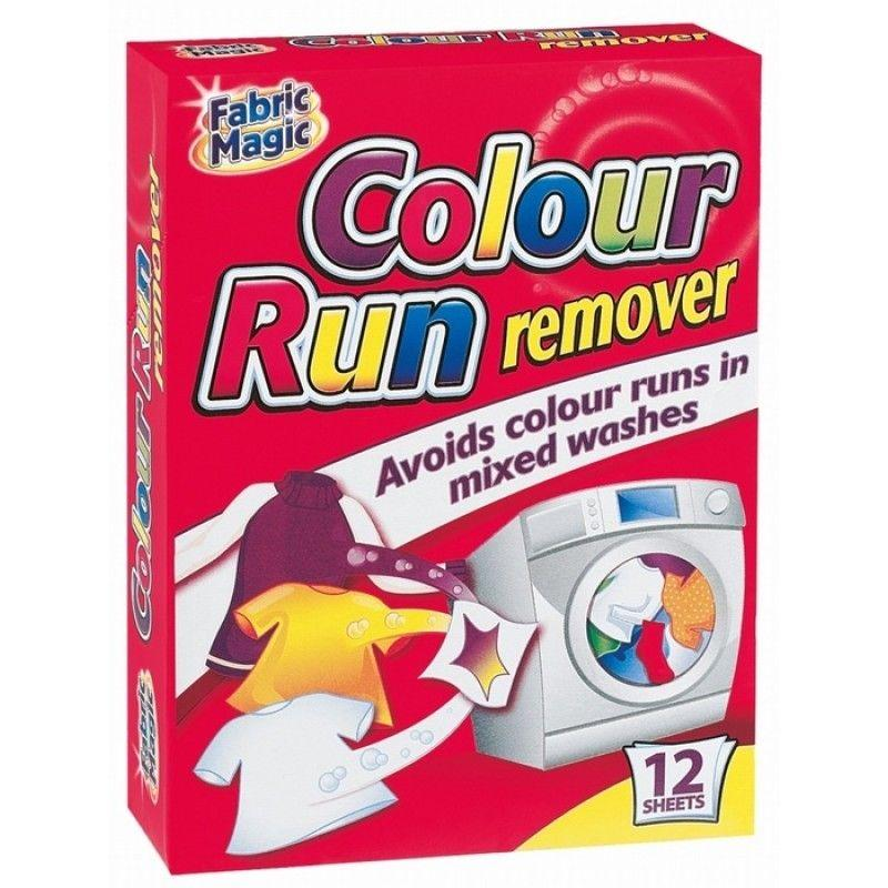 Colour Run Remover Sheets (12 Pack)