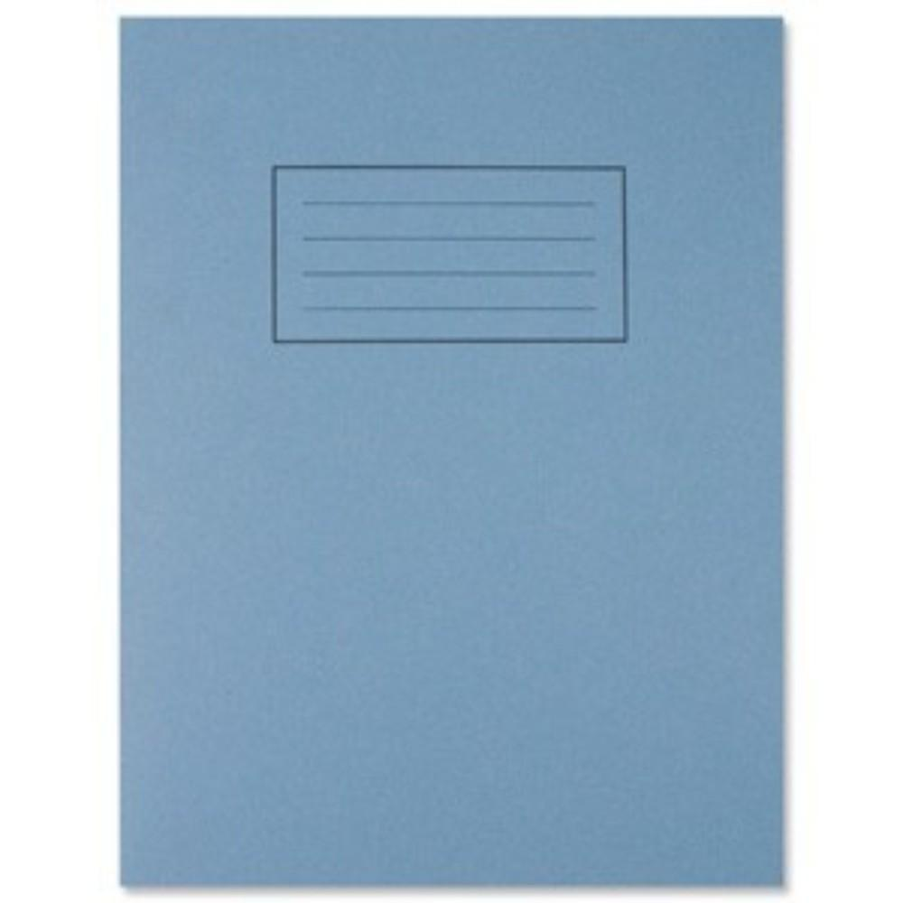 "9""x7"" Blue Exercise Book - Lined with Margin"