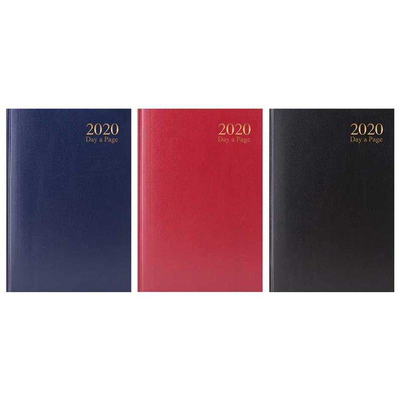2020 A6 Day A Page Hardback Value Range Diary